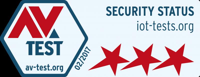 Das Schnelltest-Drei-Sterne-Logo