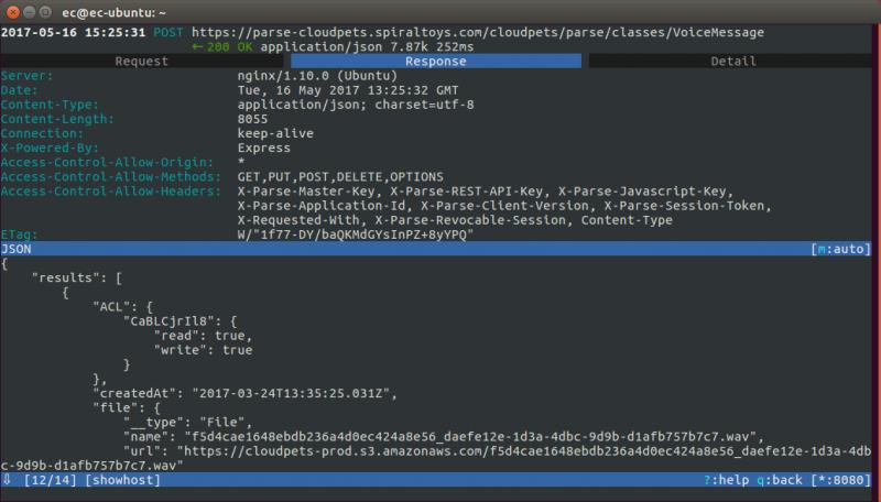 Die gesamte App-Kommunikation ist SSL-verschlüsselt, aber nicht gegen Man-in-the-Middle-Angriffe abgesichert