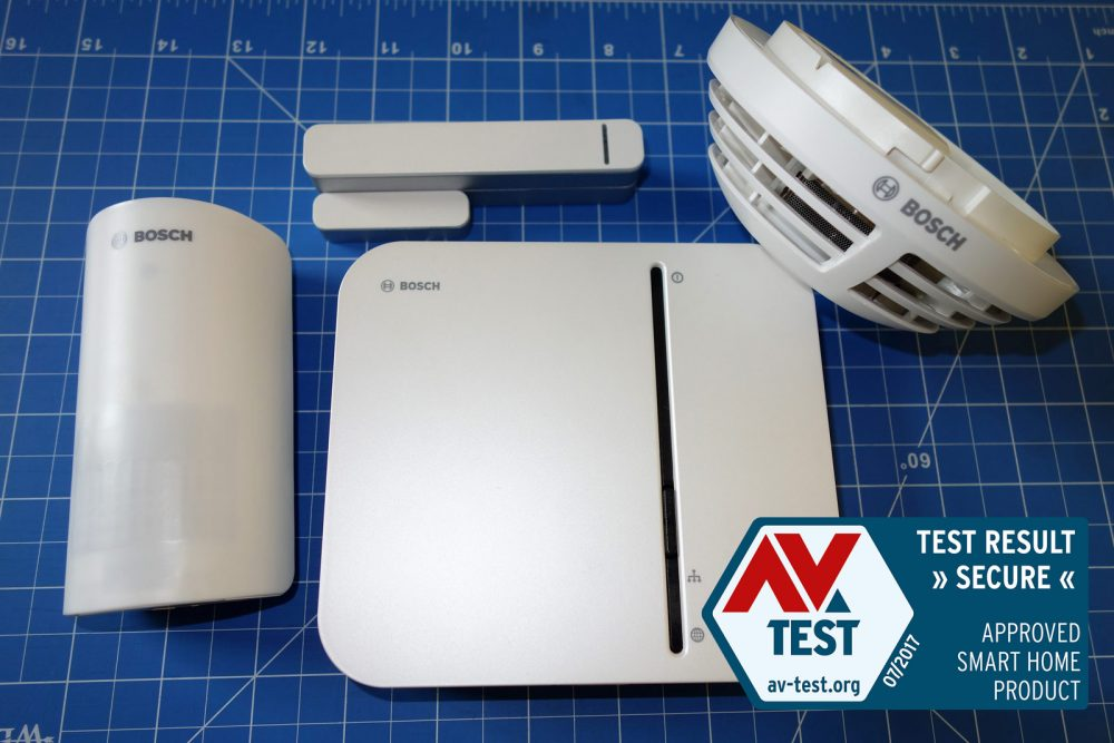 bosch smart and secure starter kit av test internet of things security testing blog. Black Bedroom Furniture Sets. Home Design Ideas