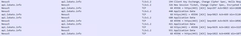 1.TLS1.2-verschlüsselte Kommunikation