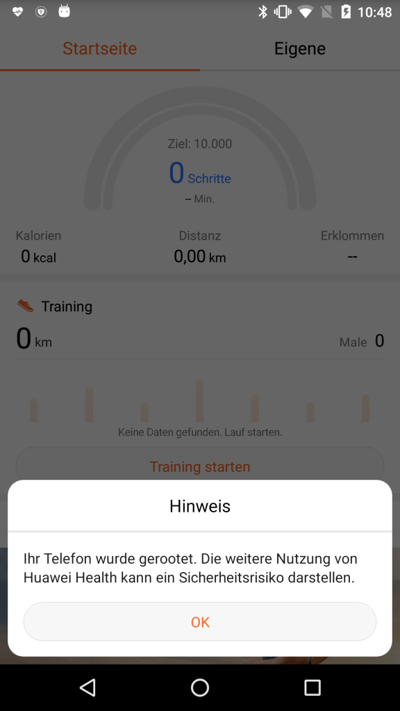 Huawei Band 2 Pro: Fit and secure – AV-TEST Internet of