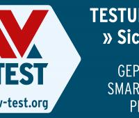 Sichere IoT- und Smart Home-Produkte erkennen Käufer an dem AV-TEST Siegel für geprüfte IoT-Sicherheit.