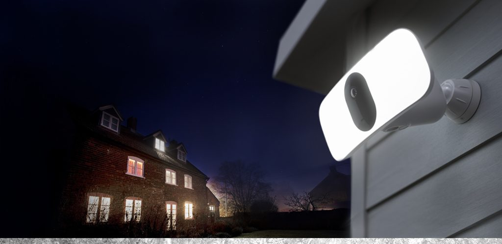 Arlo Pro 3 Floodlight Camera in the security test